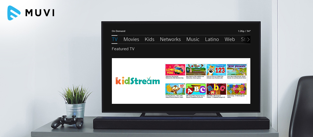 Comcast adds KidStream to its VOD service
