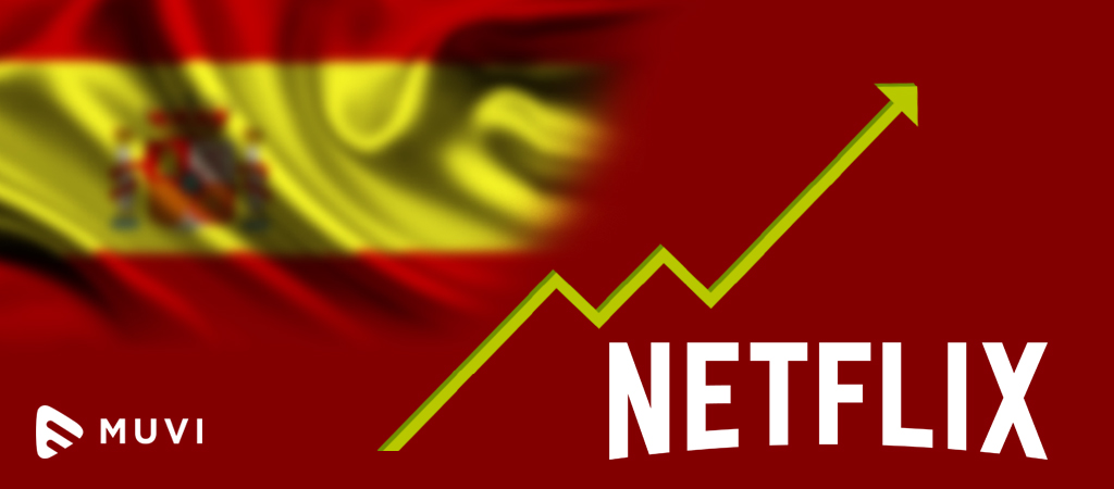 Netflix subs double in Spain