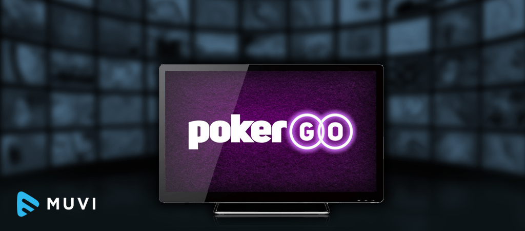 Subscription Service, PokerGO, launches as an OTT service