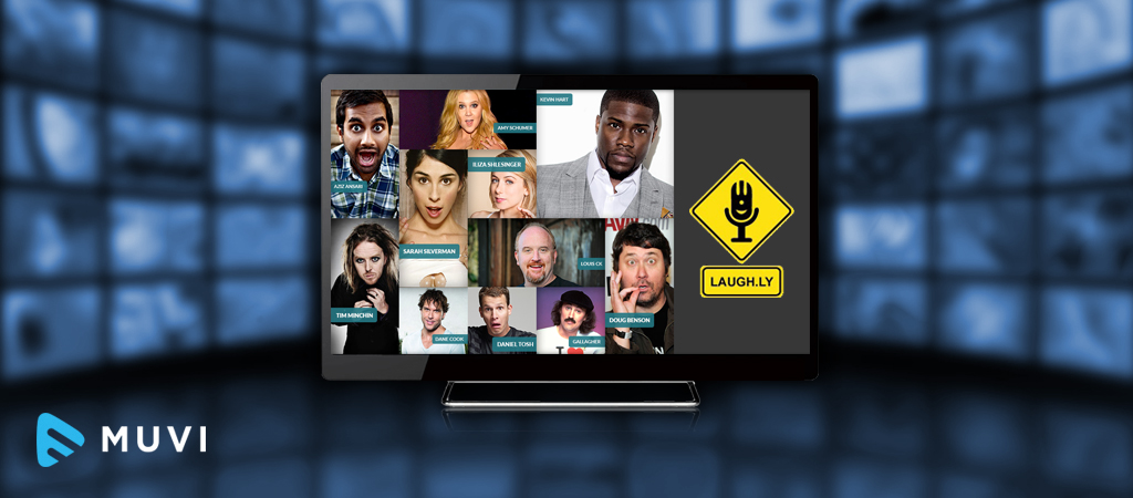 Laugh.ly - Streaming service focused on Stand- Up Comedy