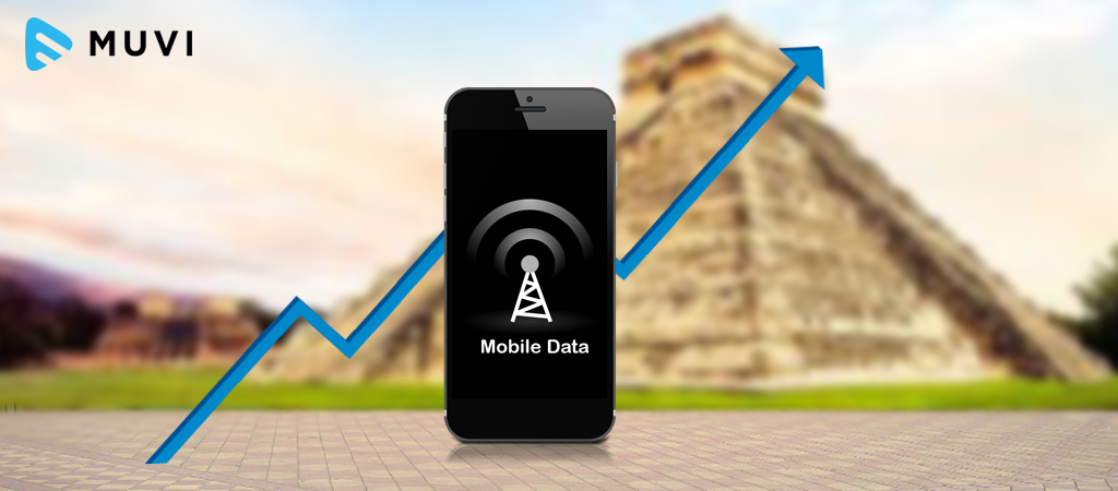 Mobile data consumption grows in Mexico with increased online video viewing