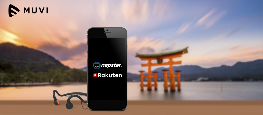 Music Streaming set to grow in Japan with Napster and Rakuten partnership