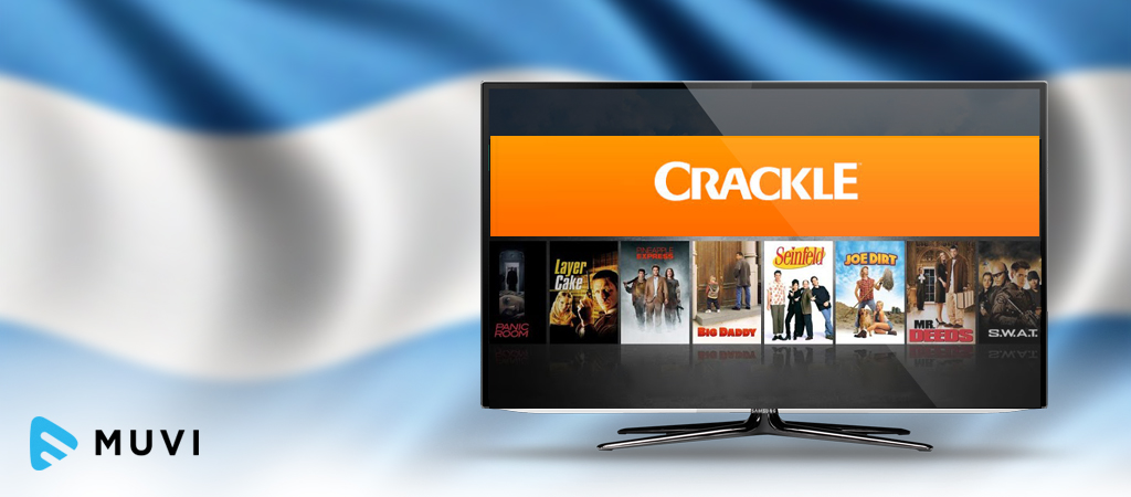 Gigared includes SVOD service Crackle in Argentina