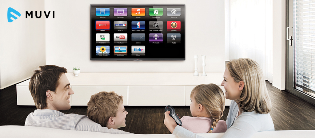 US households with Subscription Video on Demand service on the rise