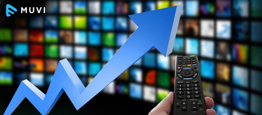 Binge viewing in the US increasing