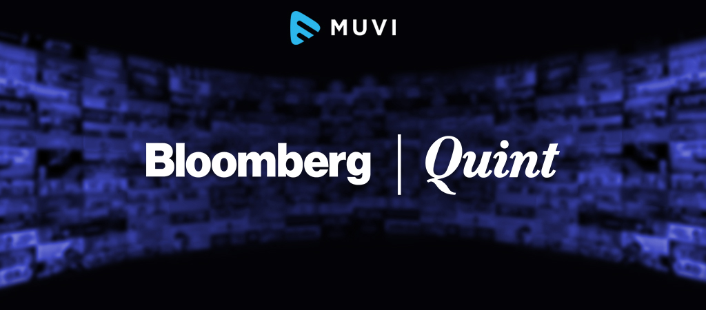 Bloomberg / Quint introduces live streaming service in India