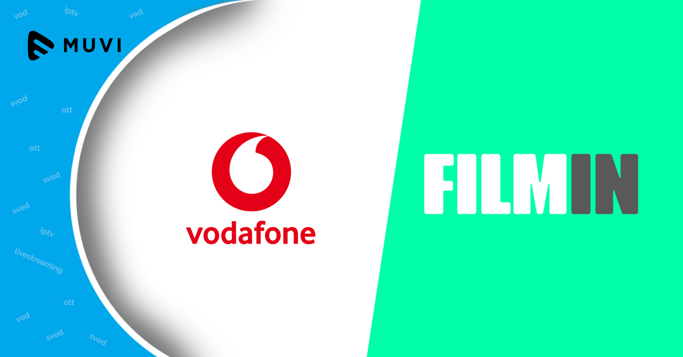 Vodafone Spain signs deal with Filmin to offer VOD service