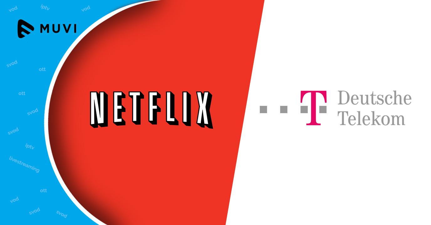 Deutsche Telekom signs deal with Netflix