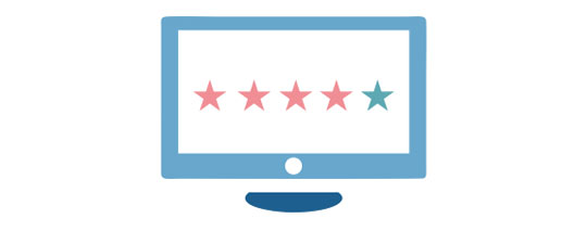 Ratings feature on Muvi for Movies and TV shows