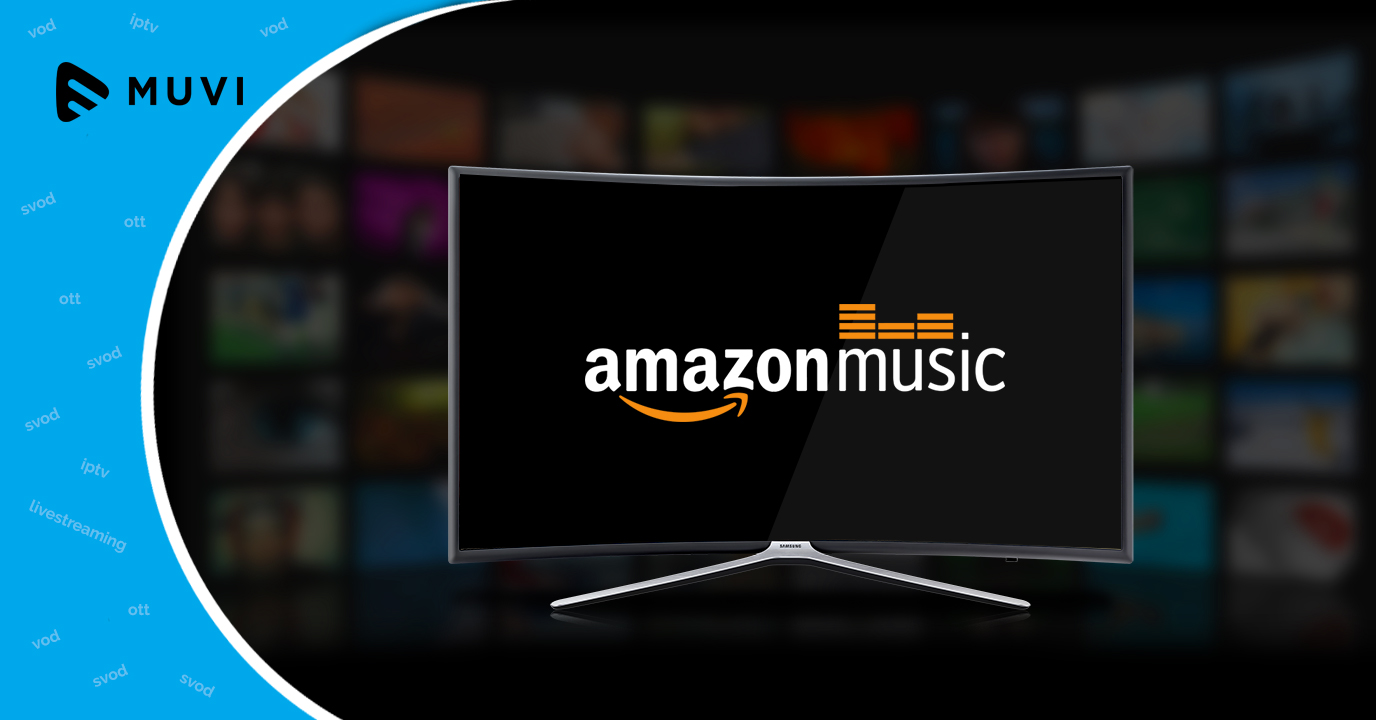 Amazon Music shall now be streamed on Samsung TV