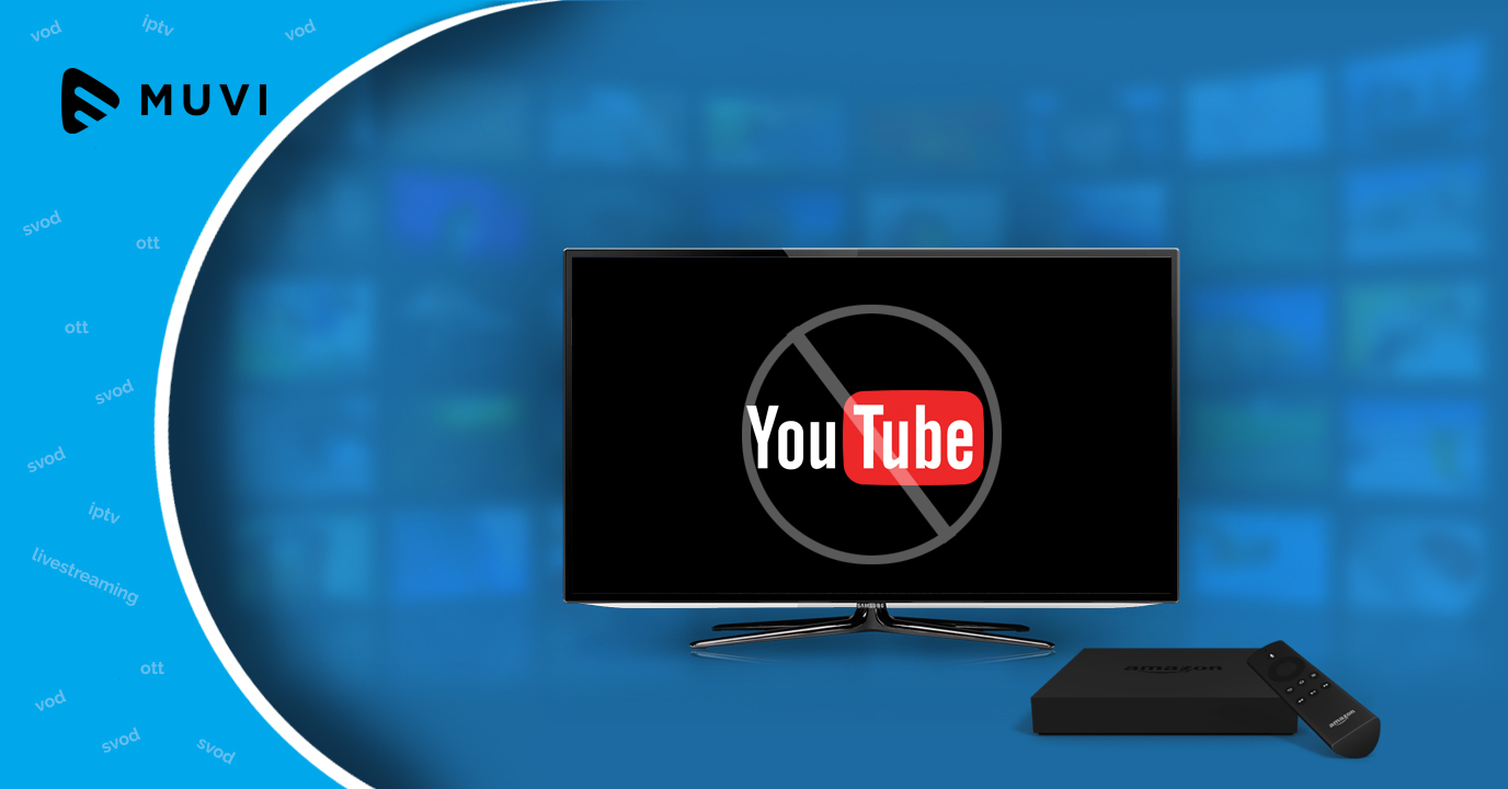 YouTube app no longer supported on Amazon Fire TV devices
