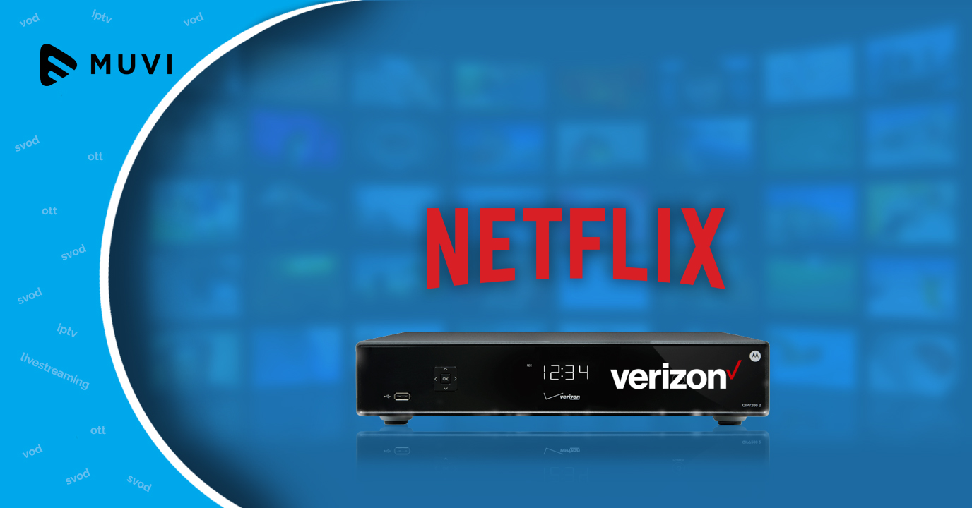 Verizon Fios integrates its set-top box with Netflix