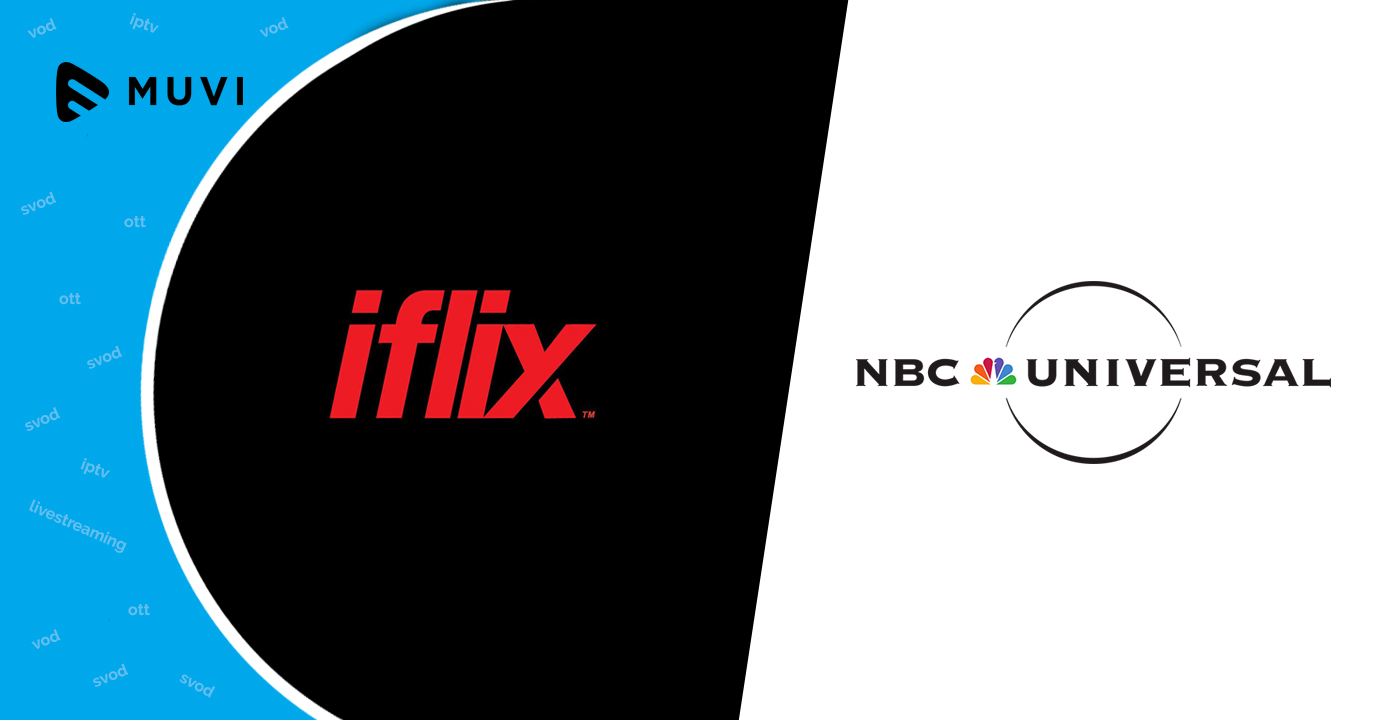 iflix strikes content deal with NBCUniversal