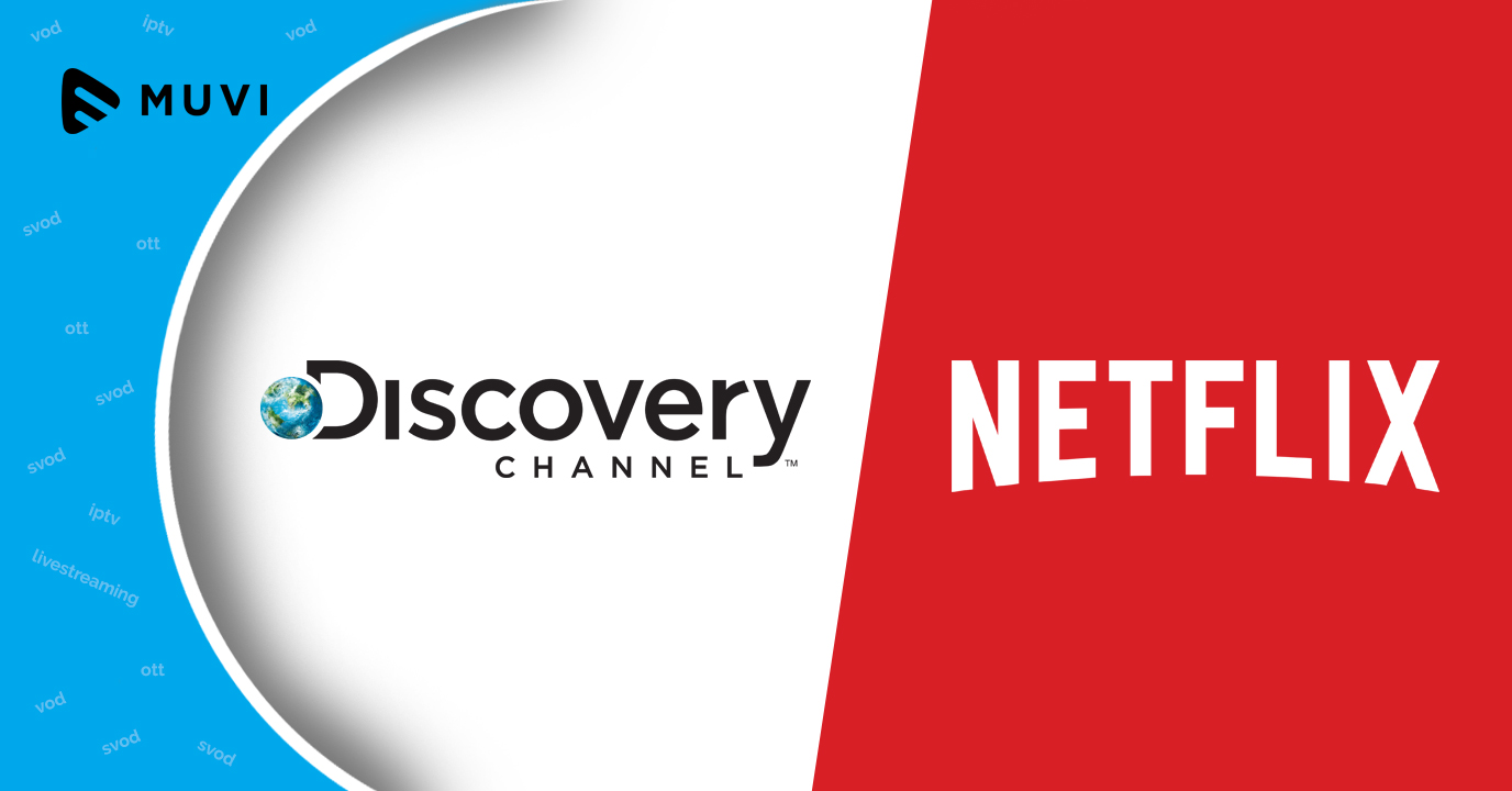 Discovery partners Netflix for new channel