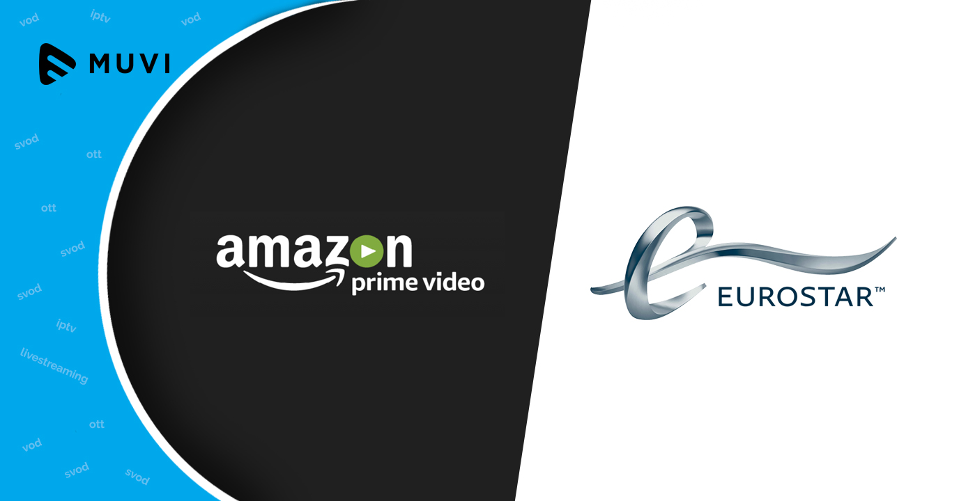 Eurostar join hands with Amazon Prime