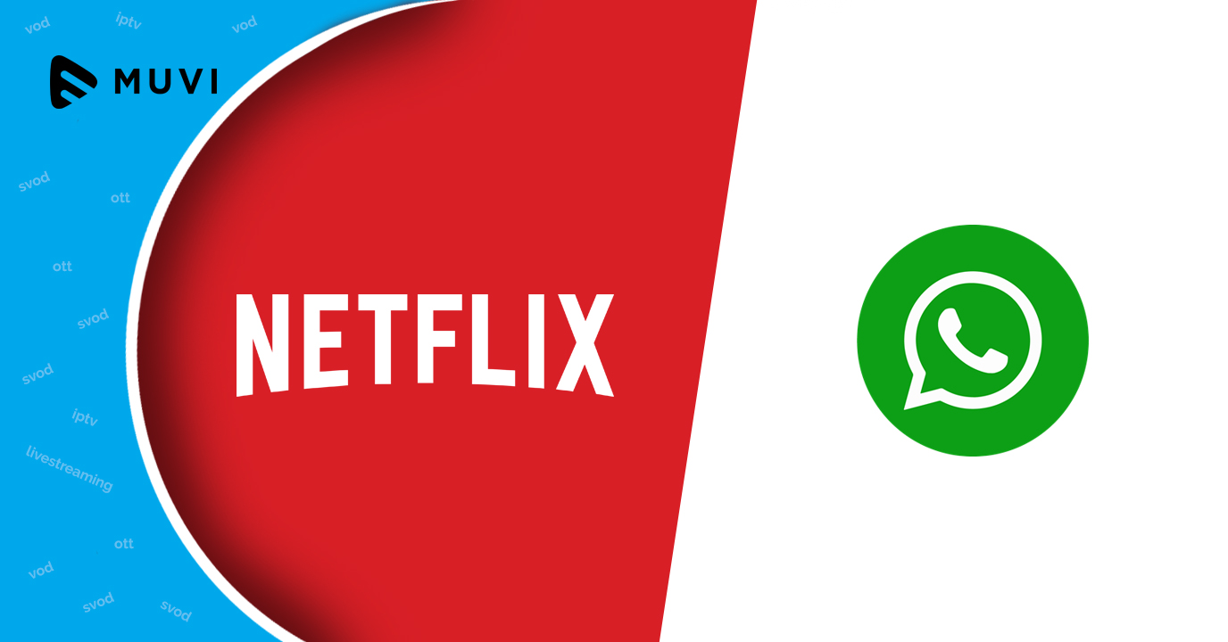 Netflix evaluating WhatsApp to engage with users