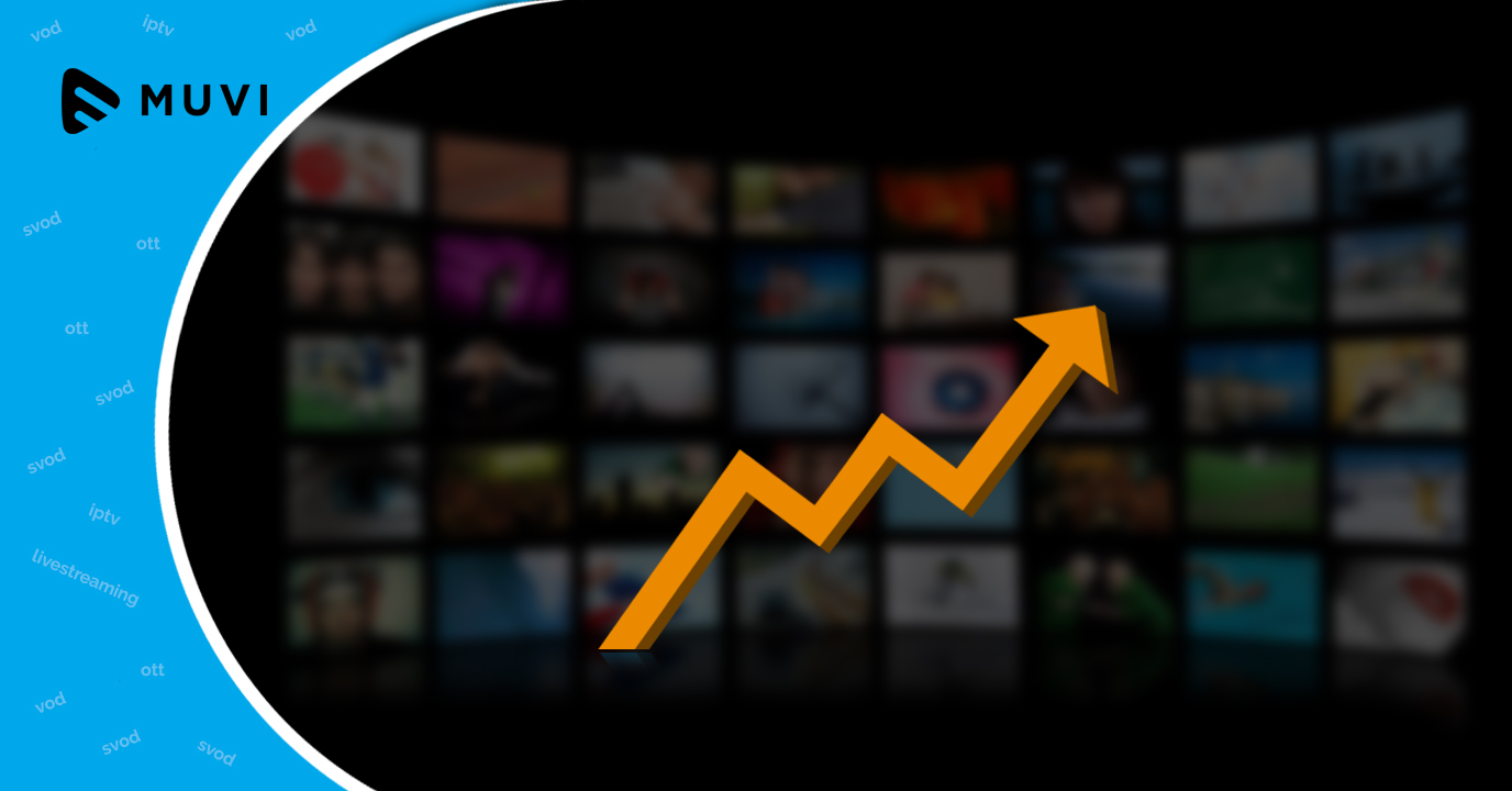OTT viewing doubled in 2017