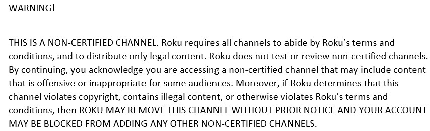 How to Download & Install a Non-Certified Roku Channel - Muvi