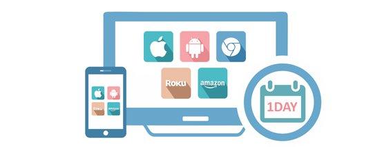 quick launch ott mobile apps