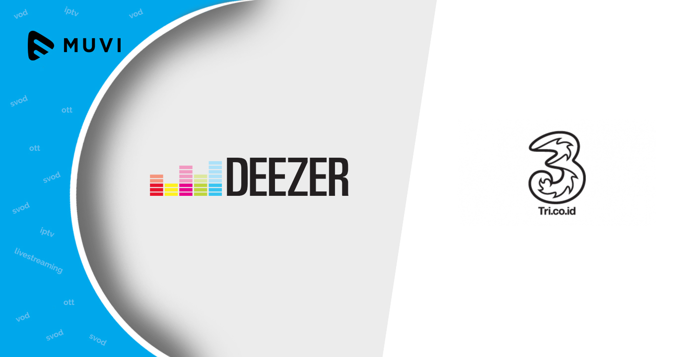Deezer and Indonesian tel-co Tri collaborate to offer music streaming