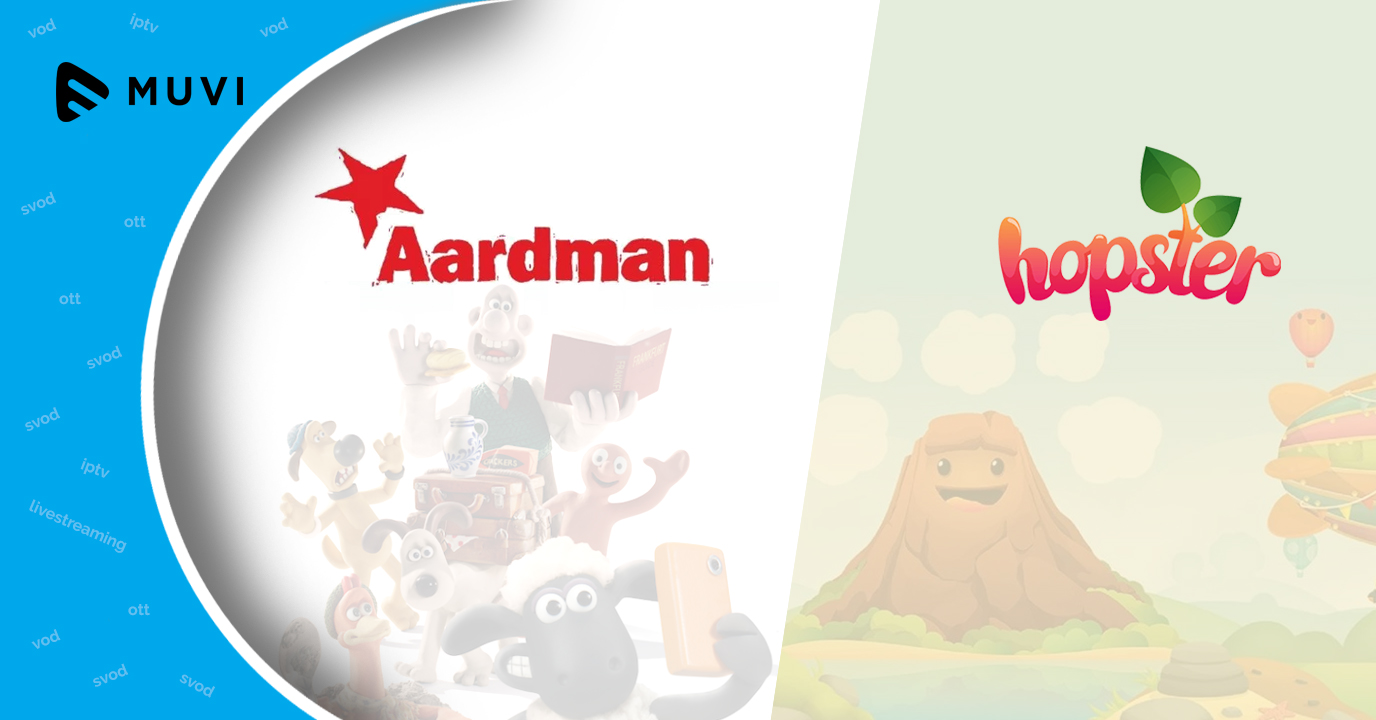 Aardman acquires distribution deal for Hopster originals