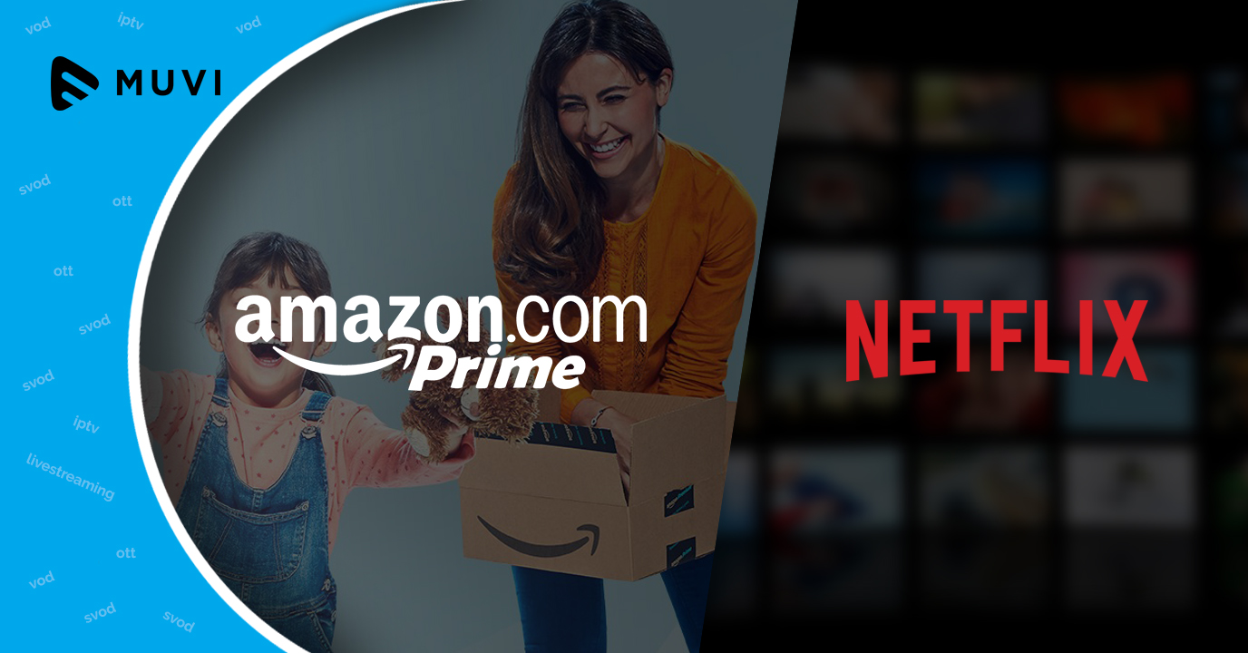Amazon Prime Video beats Netflix in Germany, India and Japan