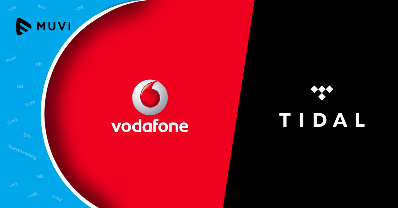 Vodafone Spain mobile clients get free access to music streaming service Tidal