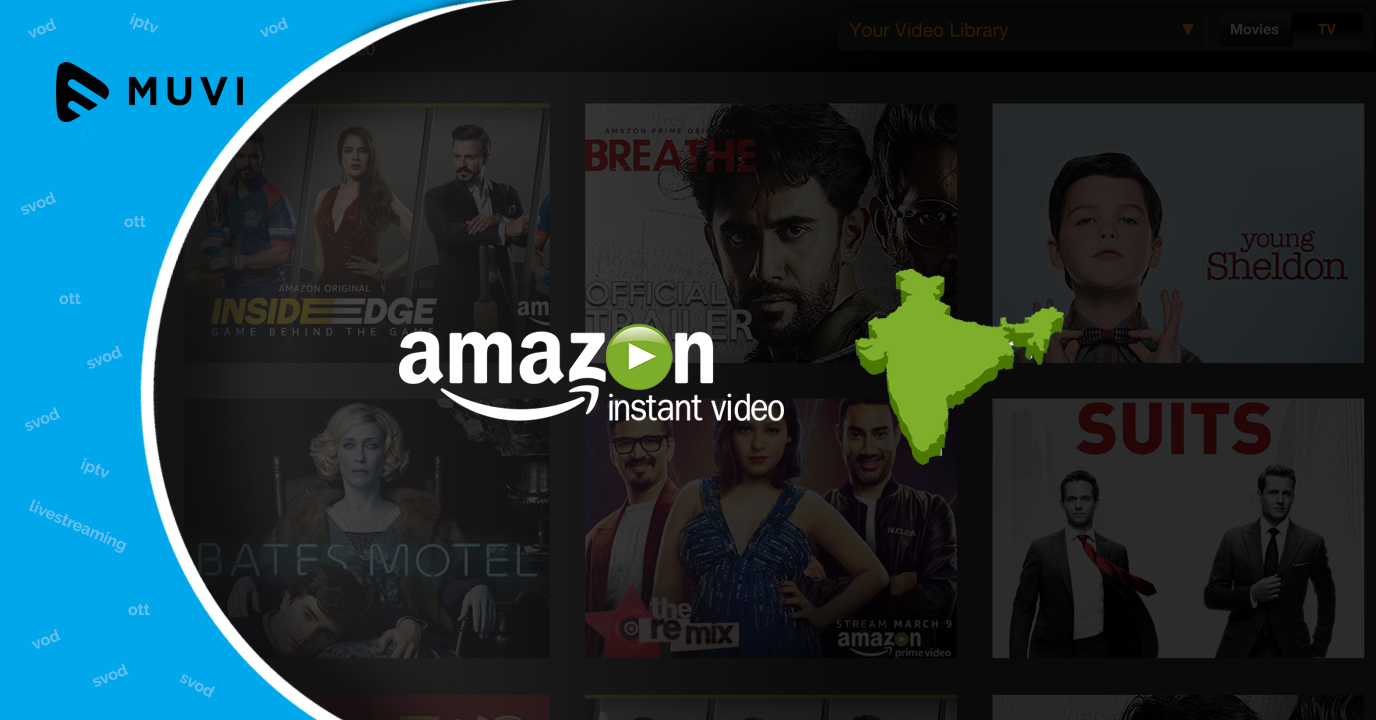 India becomes the fastest growing market for Amazon Prime Video