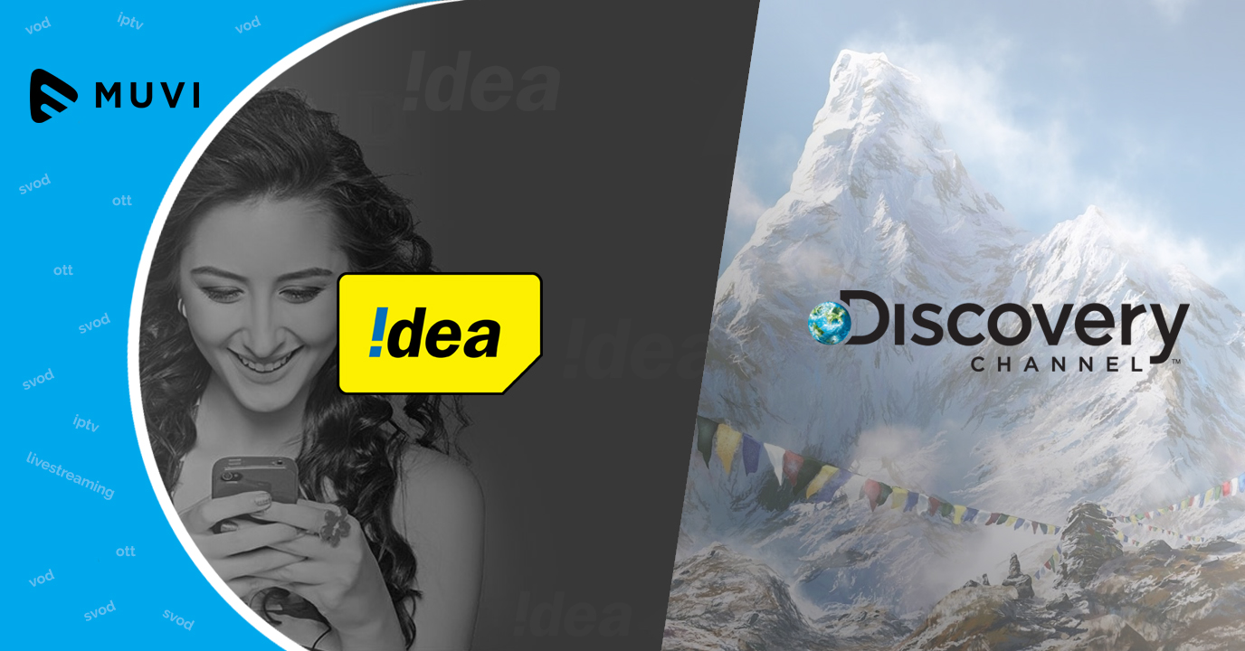Idea strikes content deal with Discovery