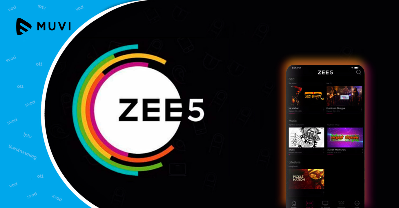 ZEE5 | Set-up a Free Video on Demand Platform in Hours - Muvi