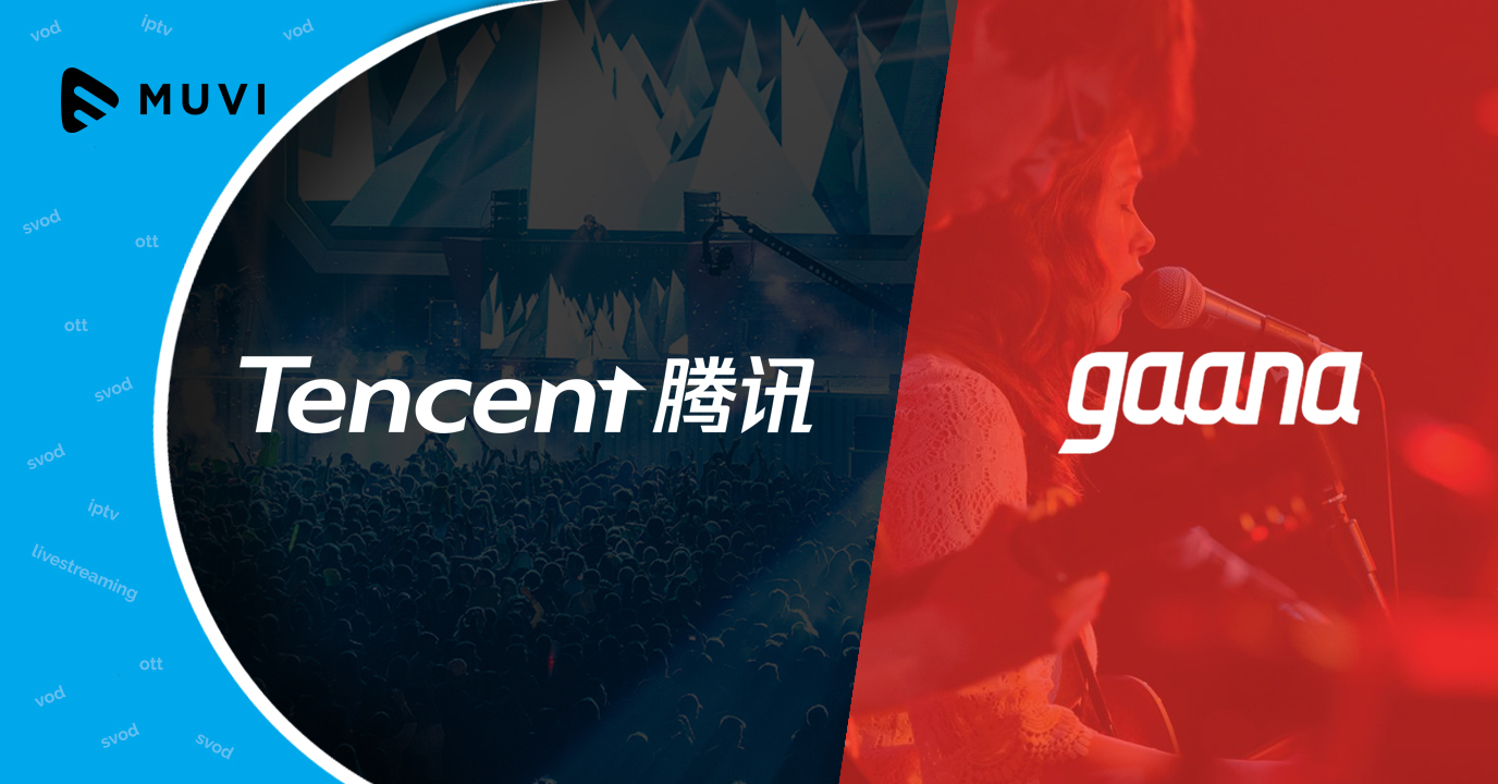 Tencent expands, invests in Indian music streaming service
