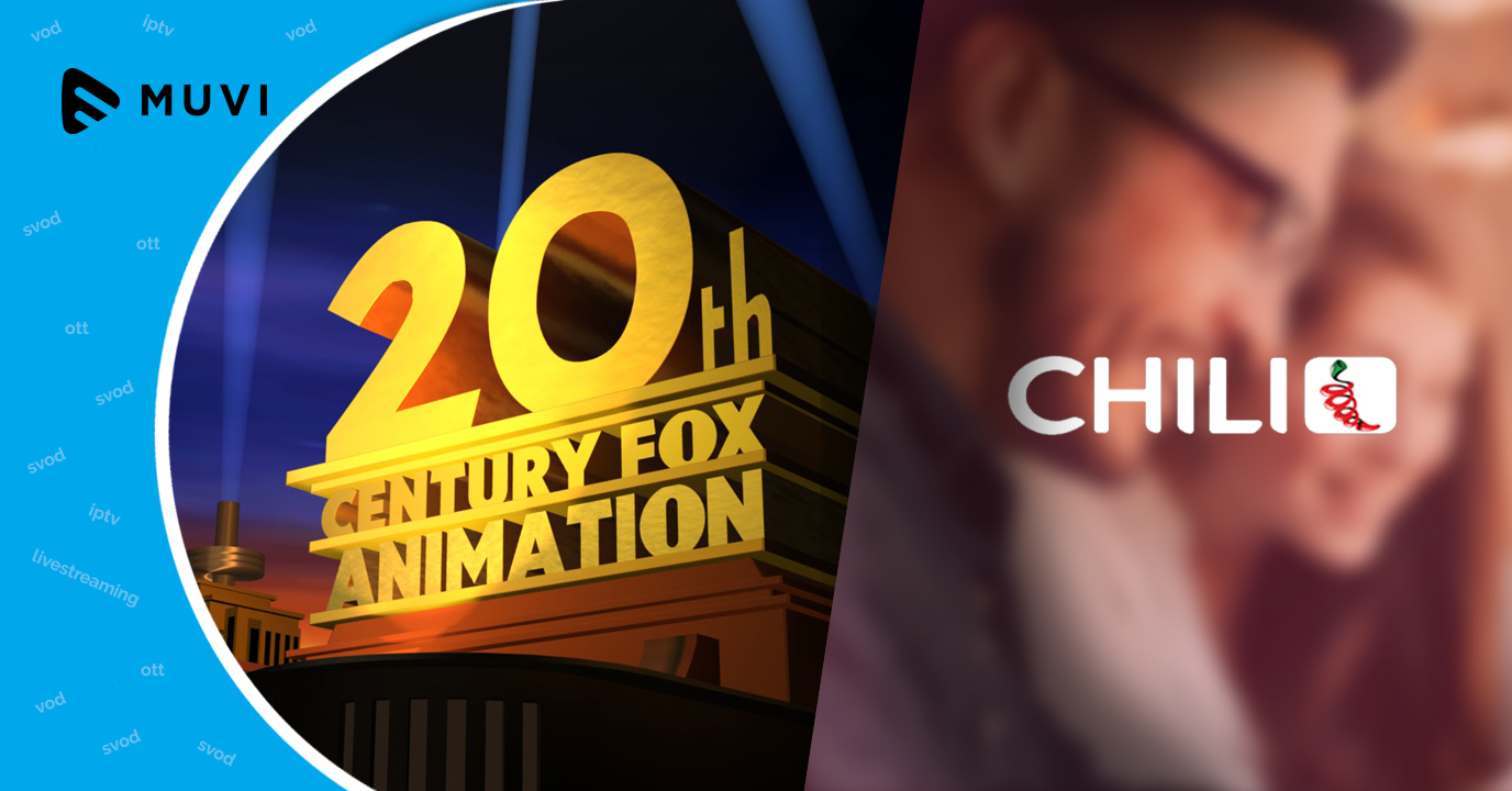20th Century Fox acquires 4% share in Italy's T-VOD service Chili, joins Warner and Paramount