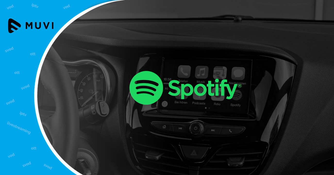 Cadillac Models now have Spotify app