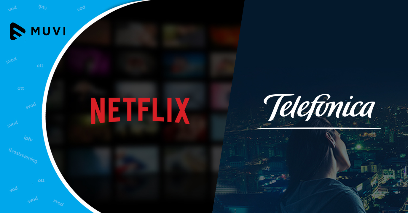 Netflix, Telefonica extend partnership in Brazil