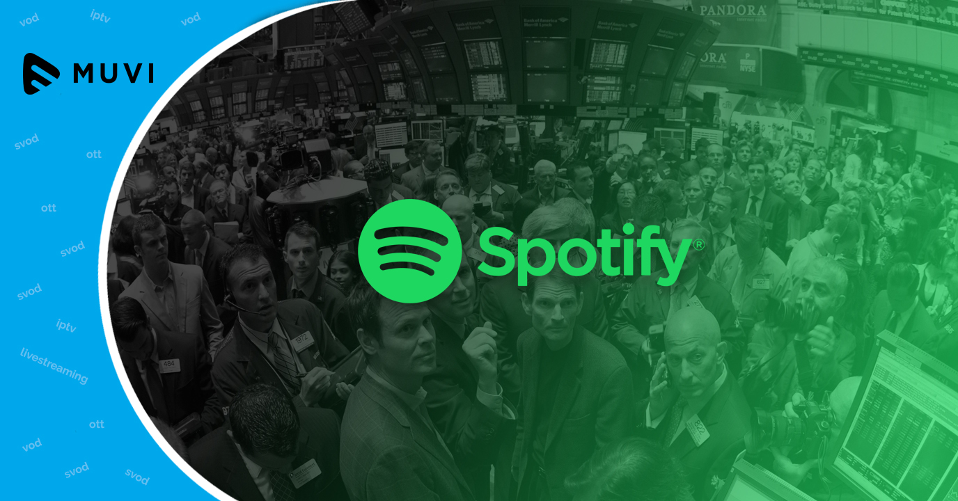 Spotify registers smooth debut on NYSE