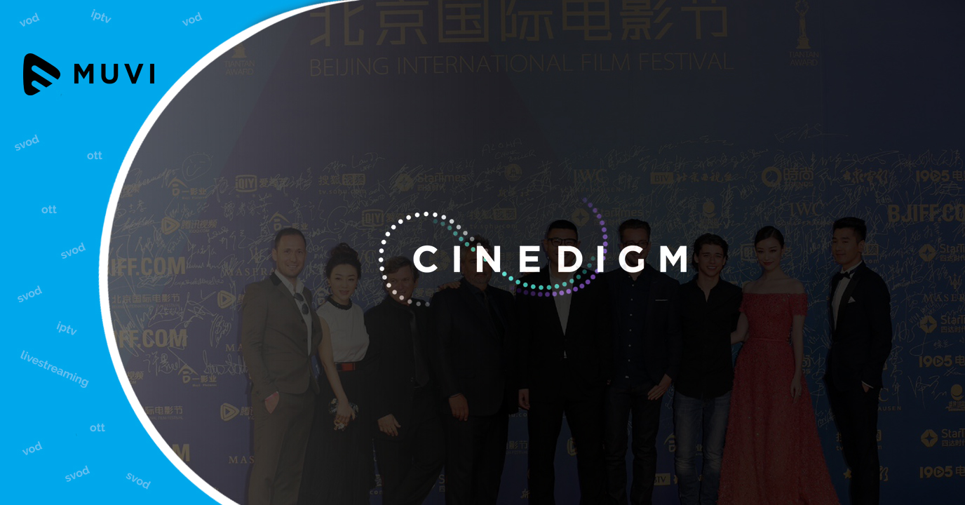 Cinedigm announces Chinese partnership ahead of Beijing Film Festival