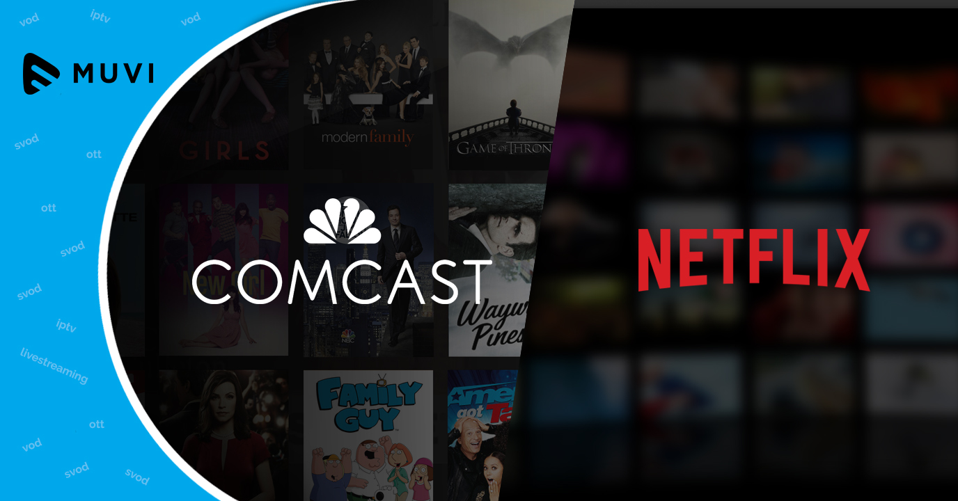 Comcast to offer Netflix content in bundle