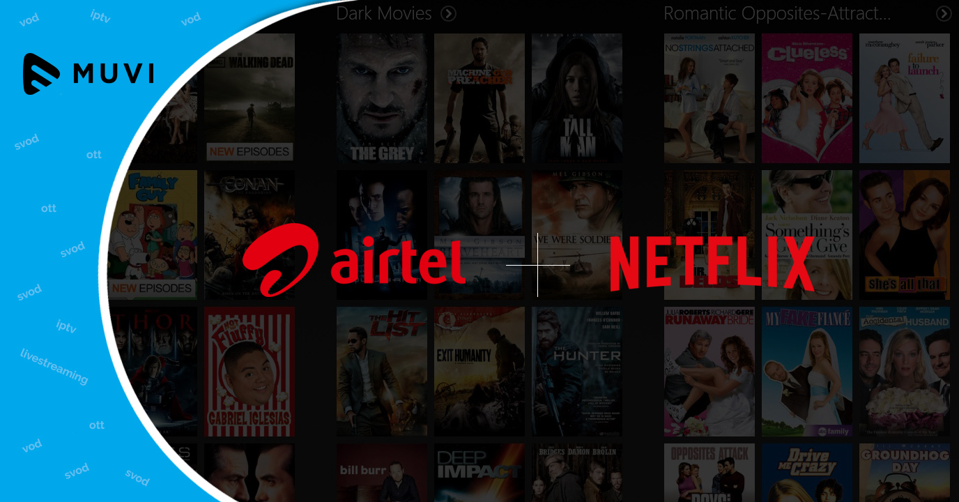 Airtel and Netflix are in talks for OTT partnership