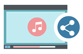 embed audio content on Muvi Platform