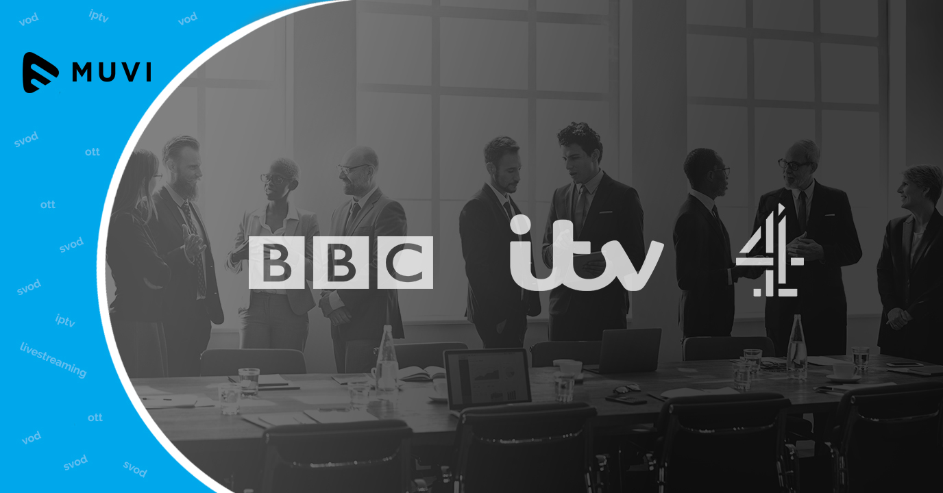 BBC, ITV, and Channel 4 may collaborate for a SVOD platform to compete with Netflix