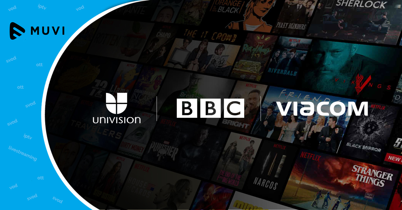 Univision lets go of Lionsgate, signs content deal with BBC, Viacom