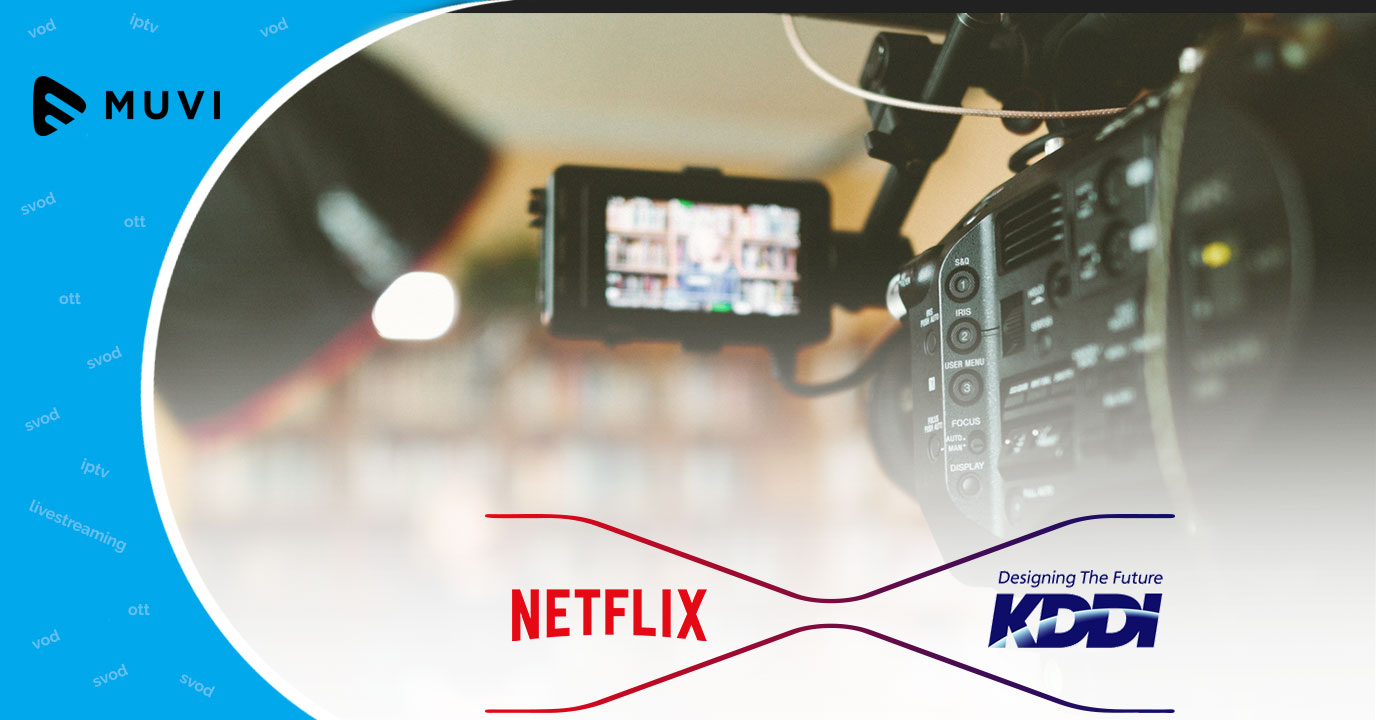 Netflix teams up with KDDI for delivering video streaming service