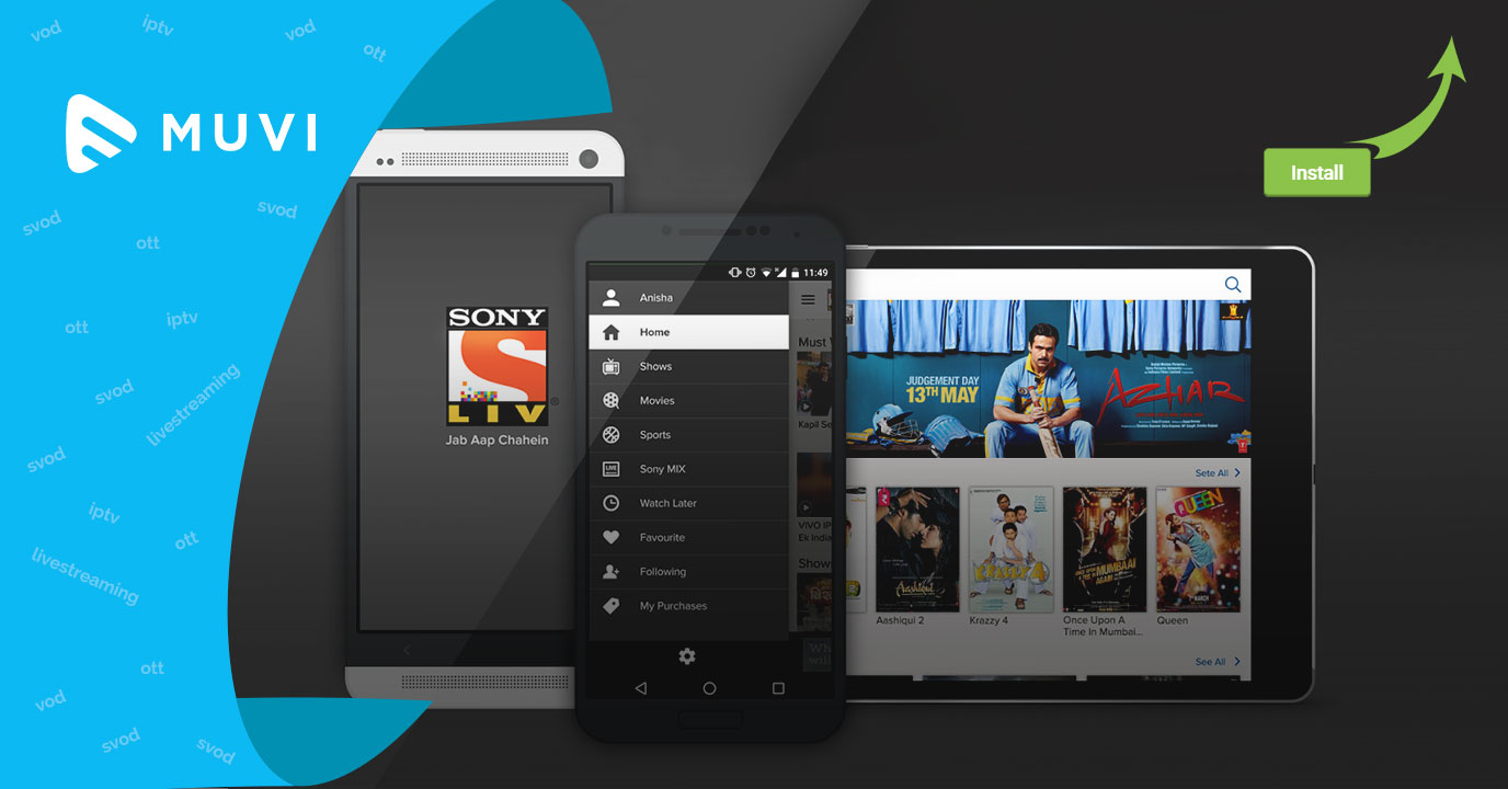 Sony LIV app installs get doubled in the Q1