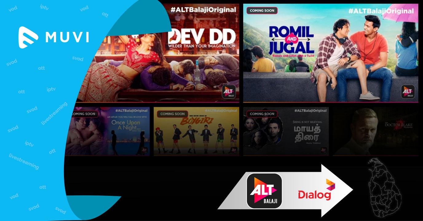 ALT Balaji debuts in Sri Lanka via Dialog Axiata