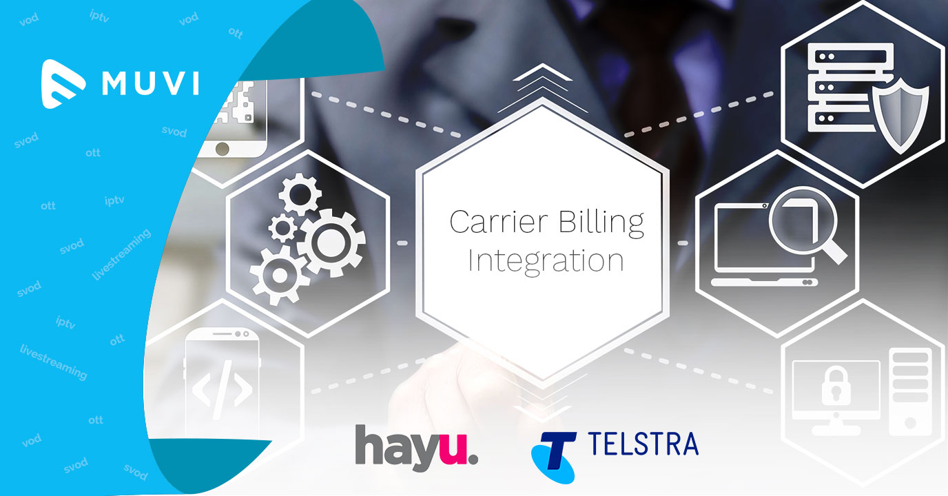 SVOD platform hayu and Telstra launch carrier billing integration