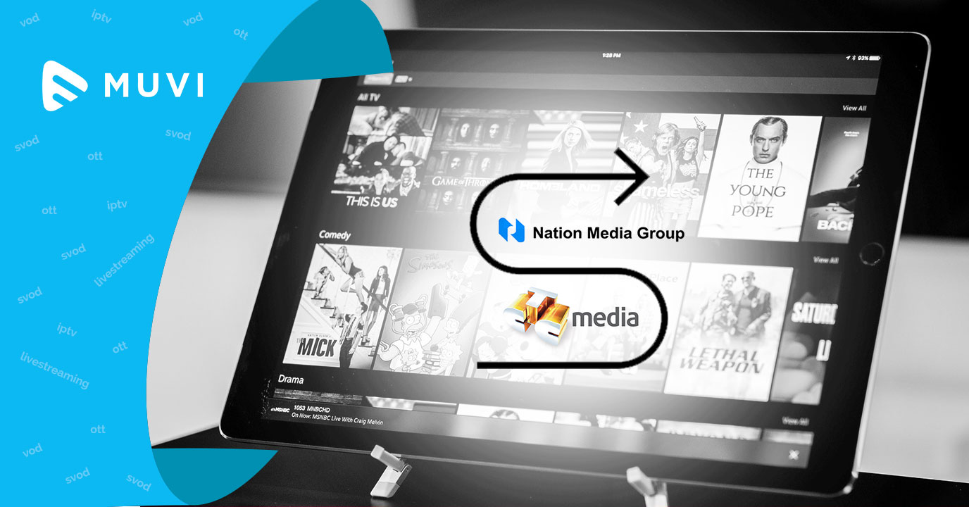 CTC Media  and National Media Group collaborate for online TV platform