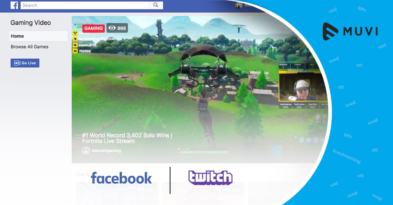 Facebook launches online gaming streaming platform