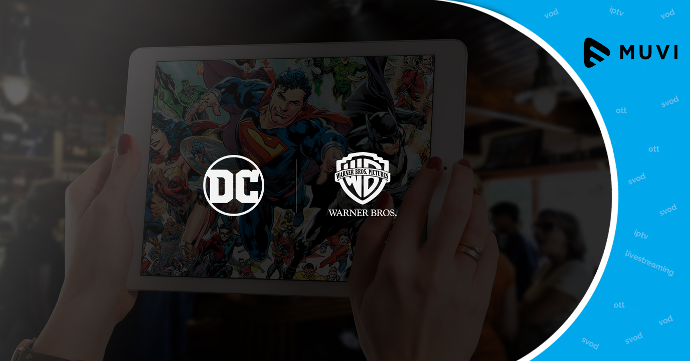 DC partners with Warner Bros for new SVOD service