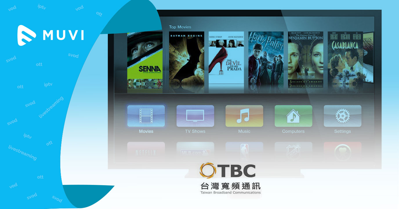 Taiwanese Cableco sets pace in video streaming industry