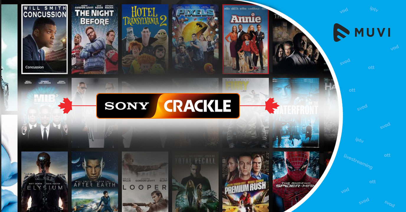 Sony cracks down on video-on-demand service Crackle in Canada